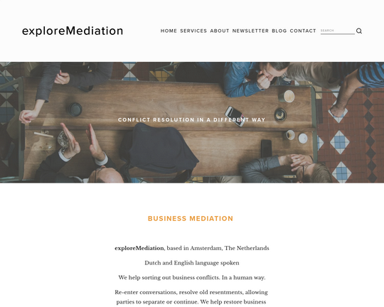 Explore Mediation Logo