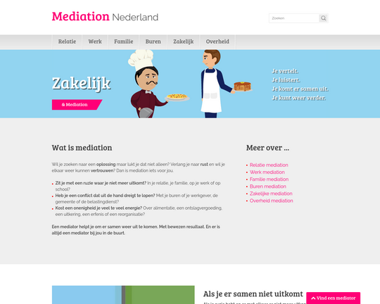 Mediation Nederland Logo