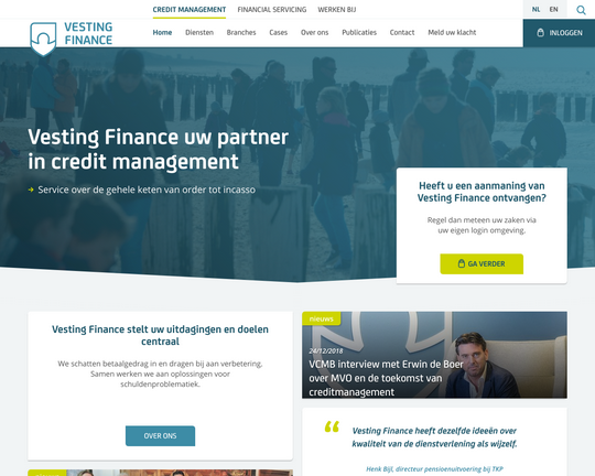 Vesting Finance Logo
